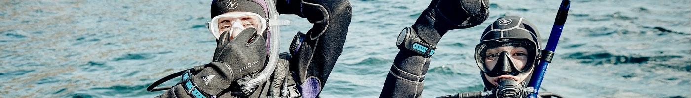 Image d'entête de la page Contact de Plongée Nautilus
